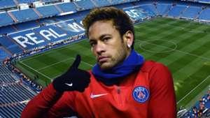 Neymar, Santiago Bernabeu