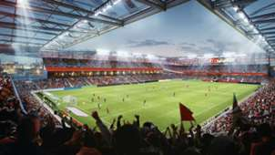 St. Louis MLS Stadium Rendering