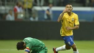 Gabriel Jesus Brasil Chile WC Qualifiers 2018 10102017