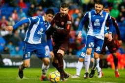 Gerard Moreno Gerard Pique Espanyol Barcelona LaLiga