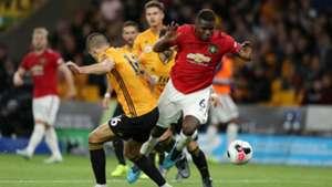 Wolverhampton - Manchester United (1-1), Pogba et MU calent face aux Wolves