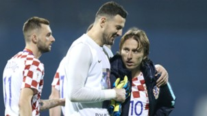 Croatia Greece WC Qualification 09112017 Subasic Modric