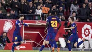 Messi Umtiti Sevilla Barcelona LaLiga