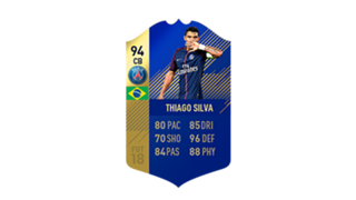 FIFA 18 Ligue 1 Team of the Season Thiago Silva