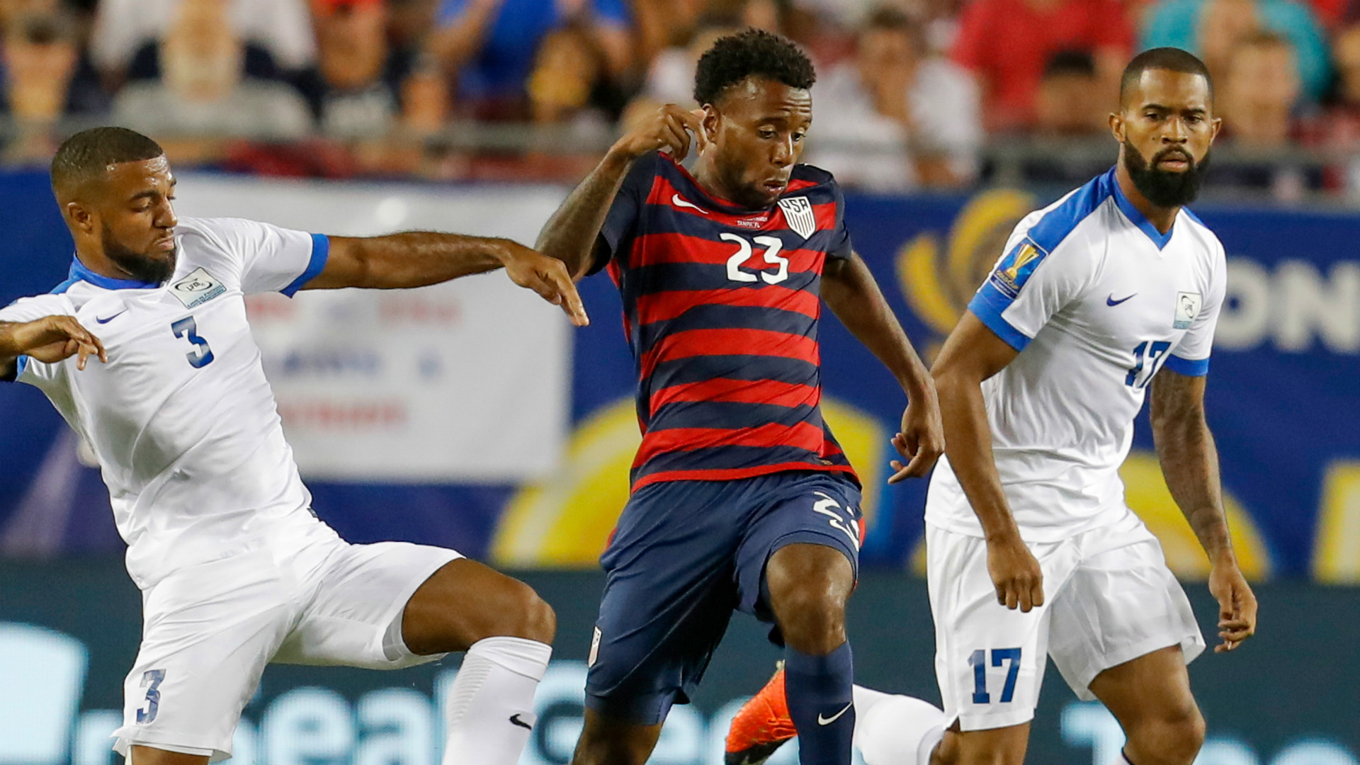 Kellyn Acosta USA Gold Cup