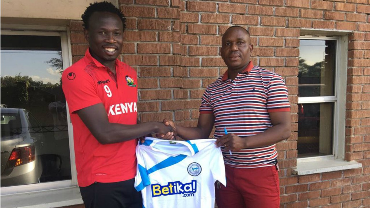 Kepha Aswani joins Sofapaka from Nakumatt.