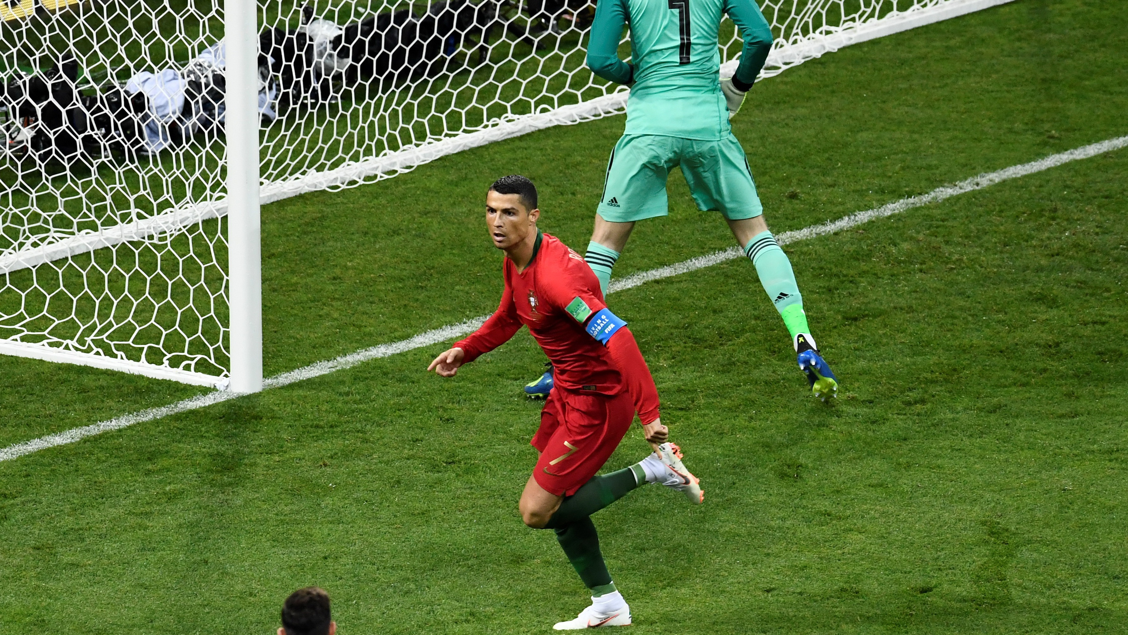 Cristiano Ronaldo Portugal Spain World Cup 2018