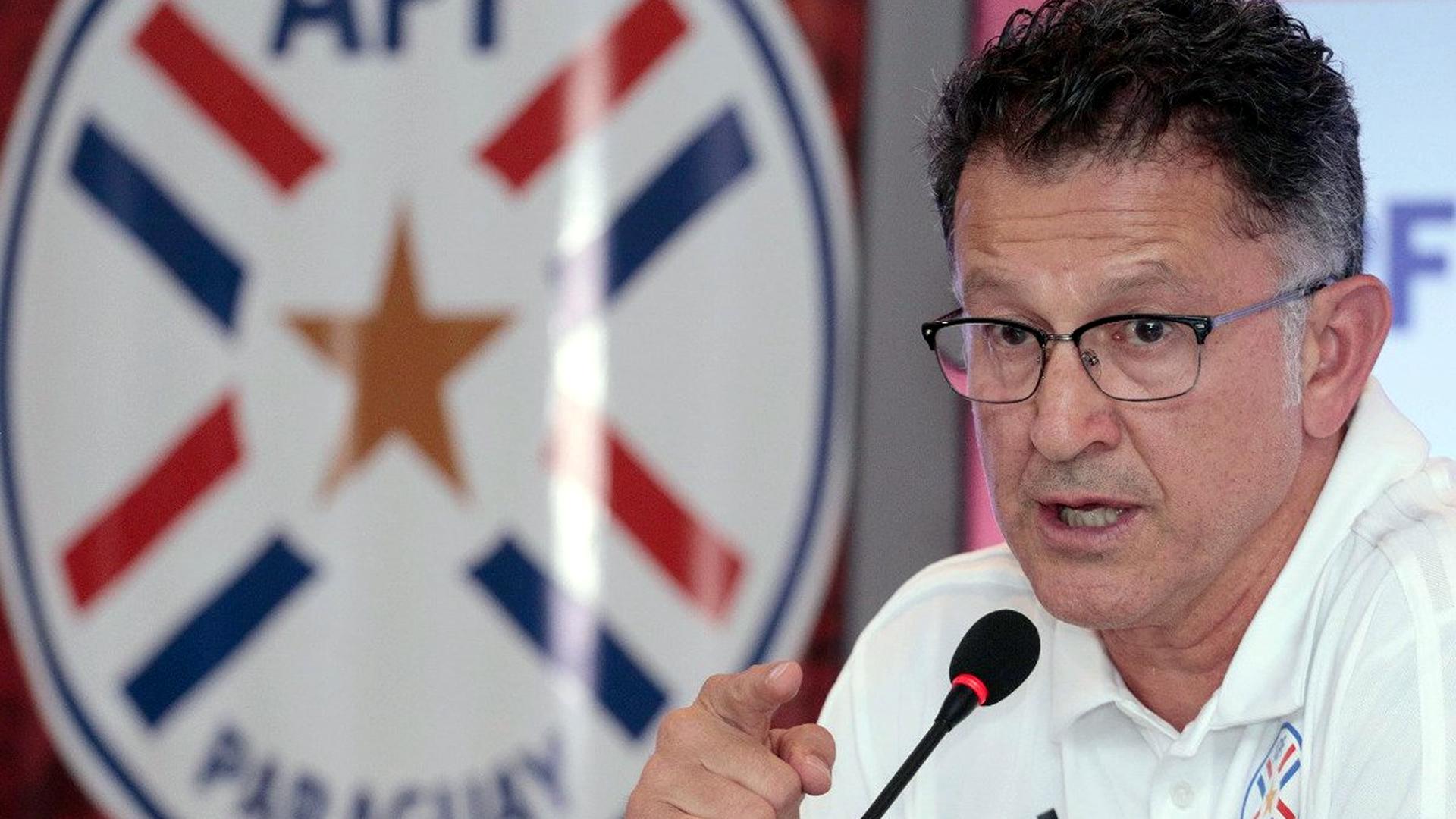 Juan Carlos Osorio Seleccion Paraguay 2018