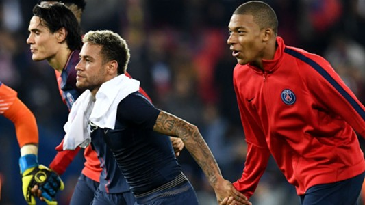 Cavani Neymar Mbappé PSG ligue 1