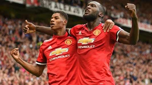 Marcus Rashford Romelu Lukaku Manchester United