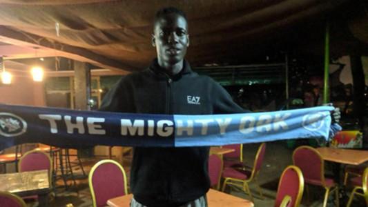 Harambee Stars defender Joseph Okumu.