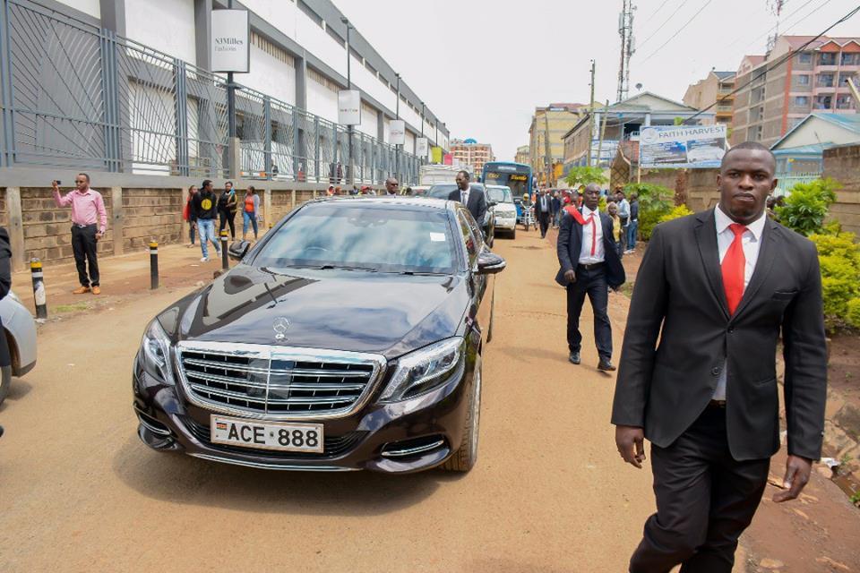 SportPesa Jackpot winner Samuel Abisai escorted under tight security