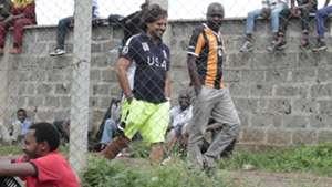AFC Leopards coach Rodolfo Zapata in Kenya.