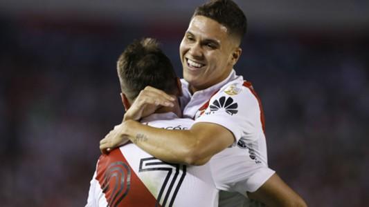 Juan Fernando Quintero Lucas Pratto River Plate Emelec Copa Libertadores 24062018