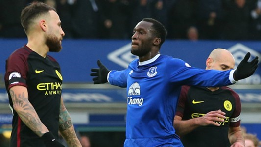 Lukaku Everton Manchester City
