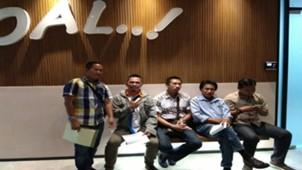 Anggota Asprov PSSI DKI Jakarta Sampaikan Mosi Tak Percaya ke kantor PSSI Pusat