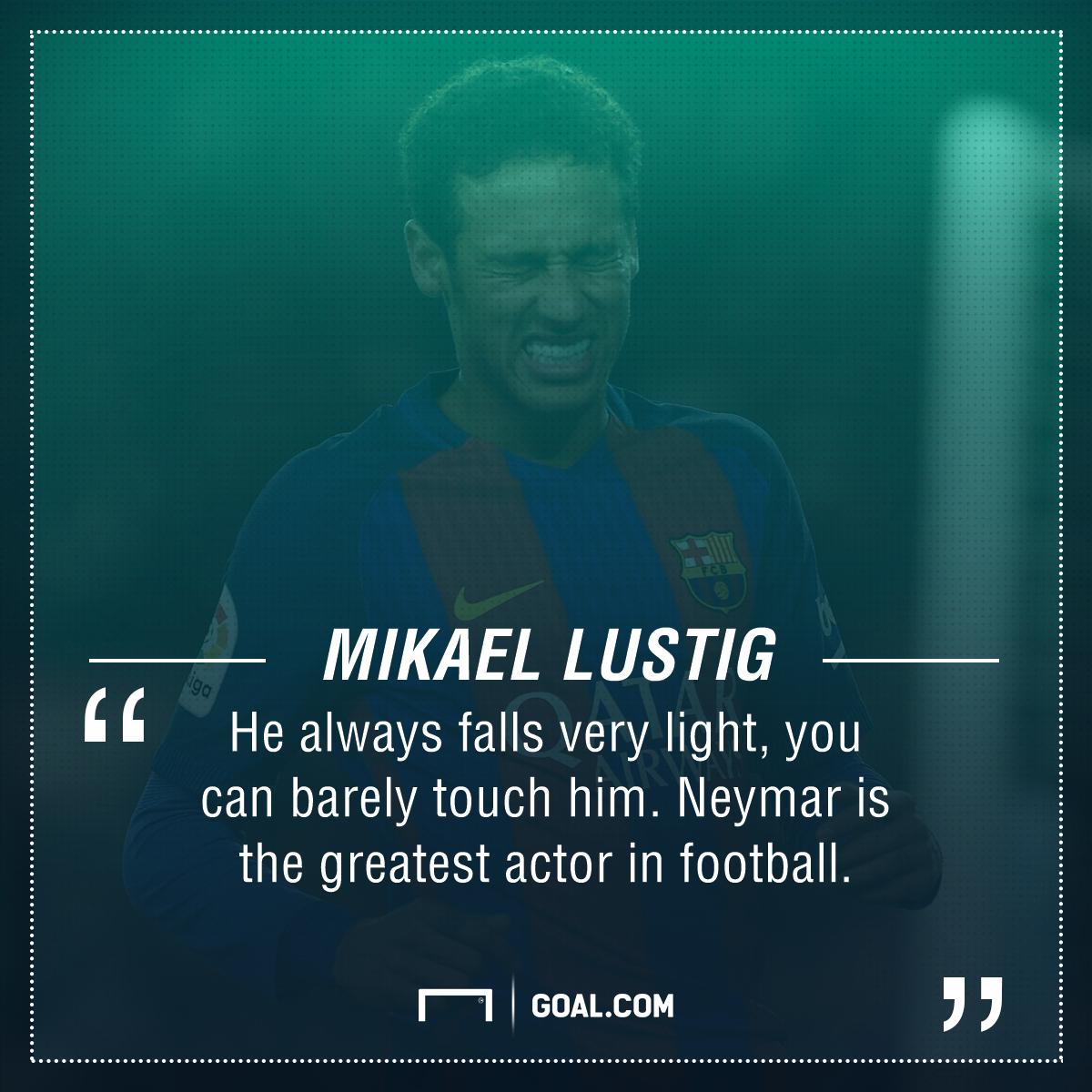 Neymar Mikael Lustig
