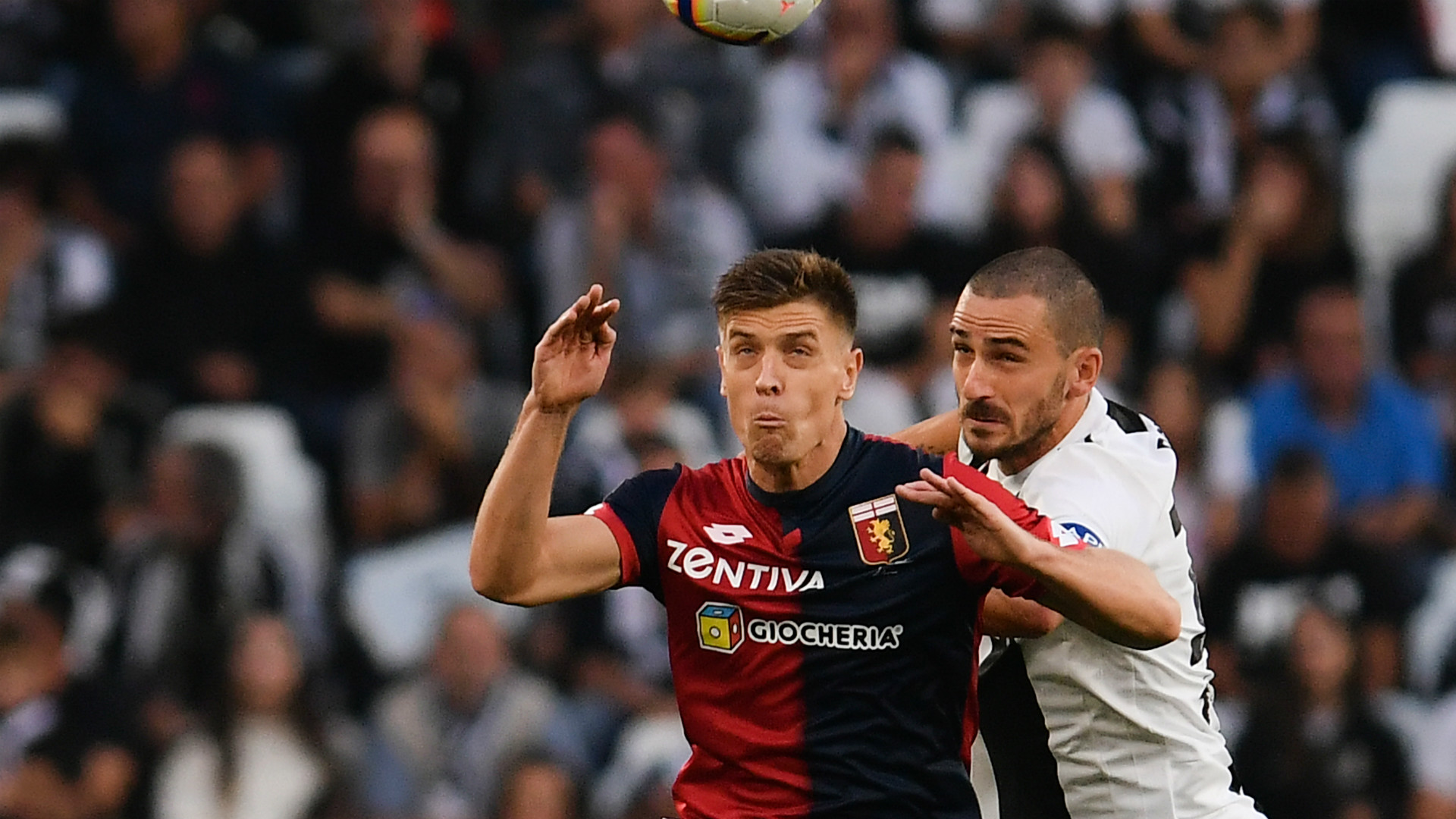 Piatek Juventus Genoa