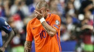 Wesley Sneijder, France - The Netherlands 08312017