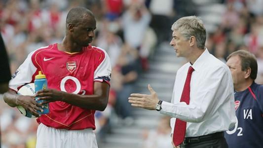 Patrick Vieira Arsene Wenger Arsenal