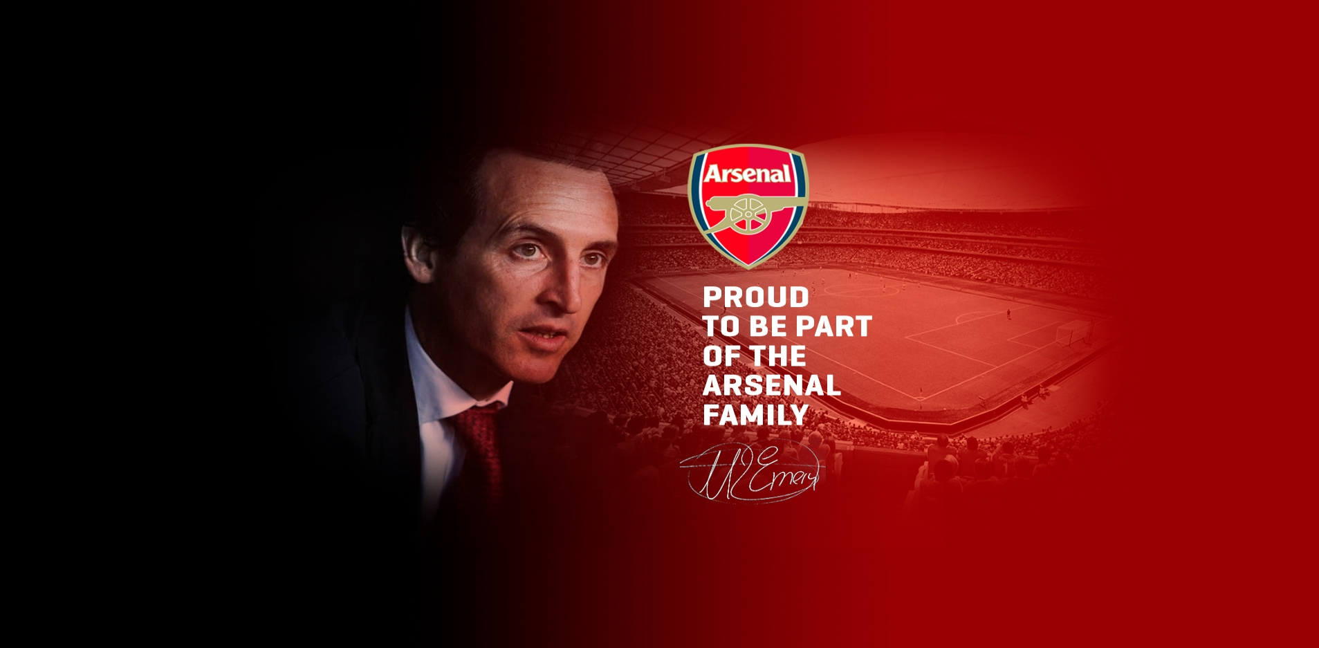 Emery site leaks Arsenal appointment