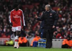 Adebayor & Wenger