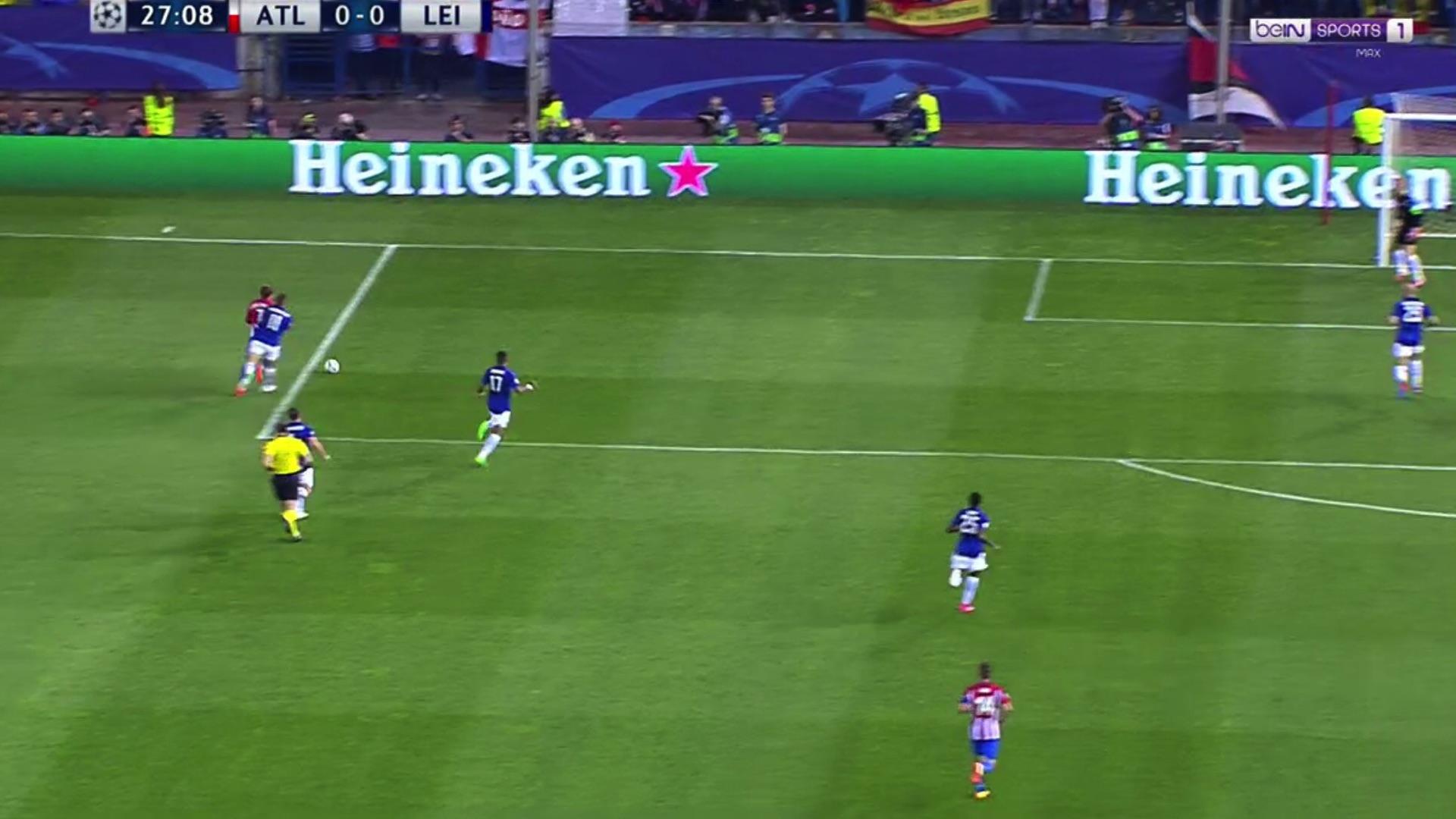 Penalti Antoine Griezmann Atletico Leicester UCL 12042017