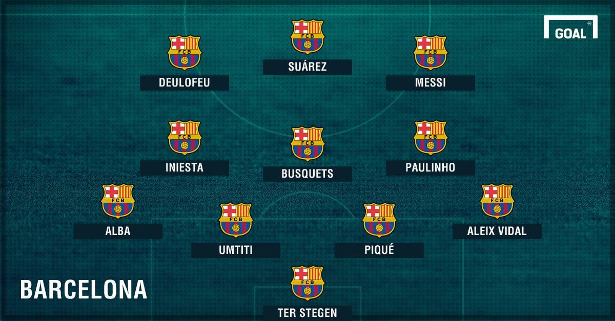 4-3-3 GFX Barcelona Paulinho