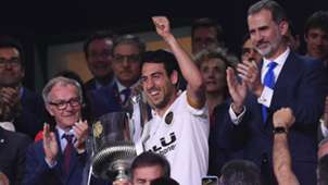 Dani Parejo Valencia Barcelona Copa del Rey 2019