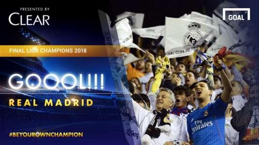 Real Madrid 3 Goal Alert