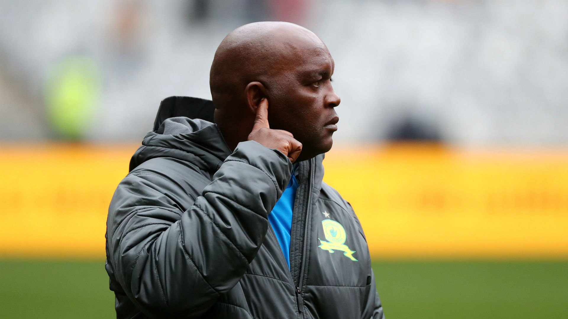 Pitso Mosimane of Mamelodi Sundowns August 2018