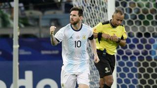 Lionel Messi Argentina Paraguay Copa America 2019