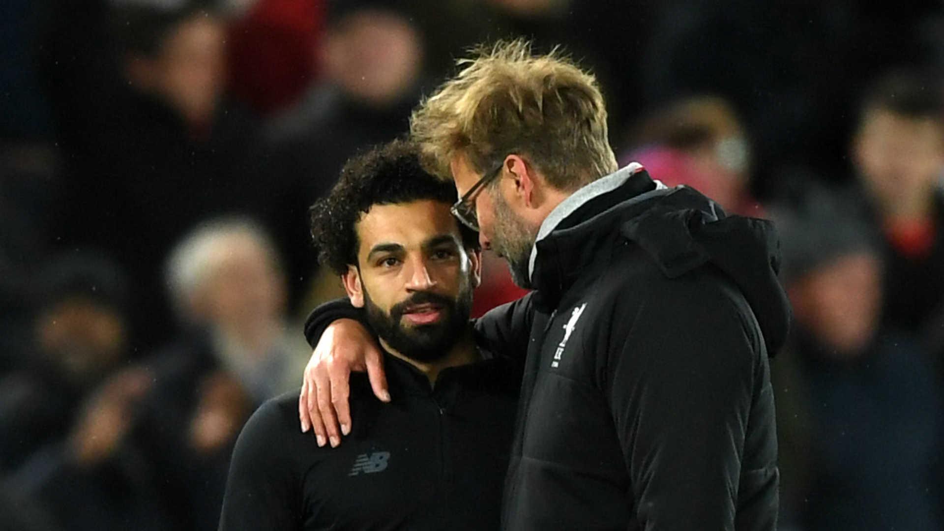 2018-04-07 Mohamed Salah Jurgen klopp