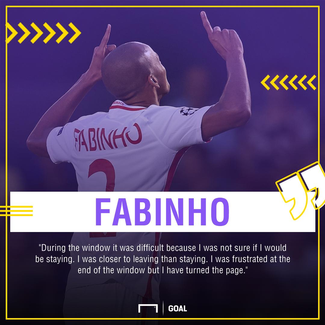 Fabinho Monaco transfer window frustration