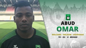 Aboud Omar signs for Cercle Brugge in Belgium.