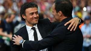 Allegri Luis Enrique Barcelona Juventus Champions