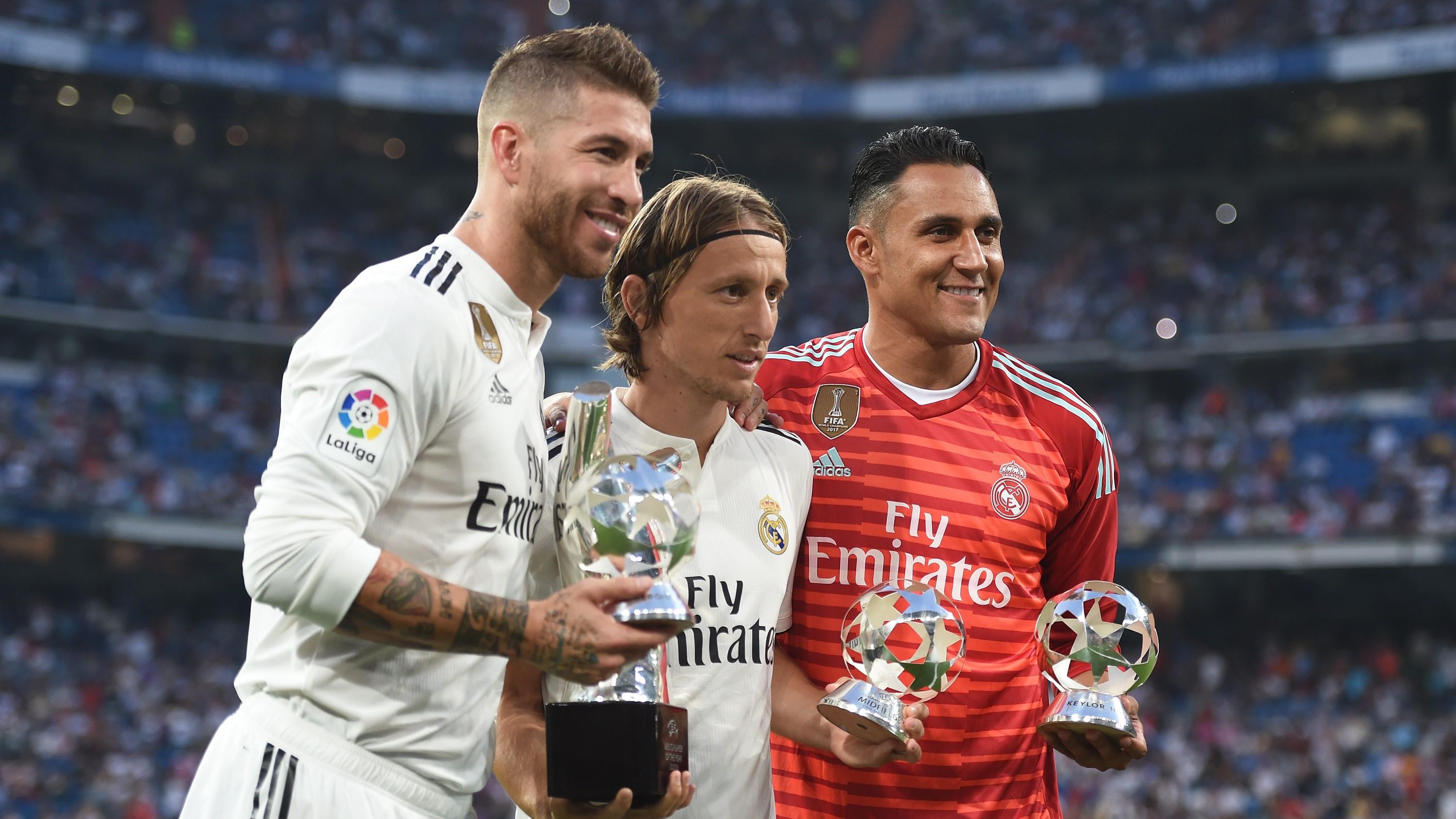 Sergio Ramos Luka Modric Keylor Navas Real Madrid Leganes LaLiga 01092018