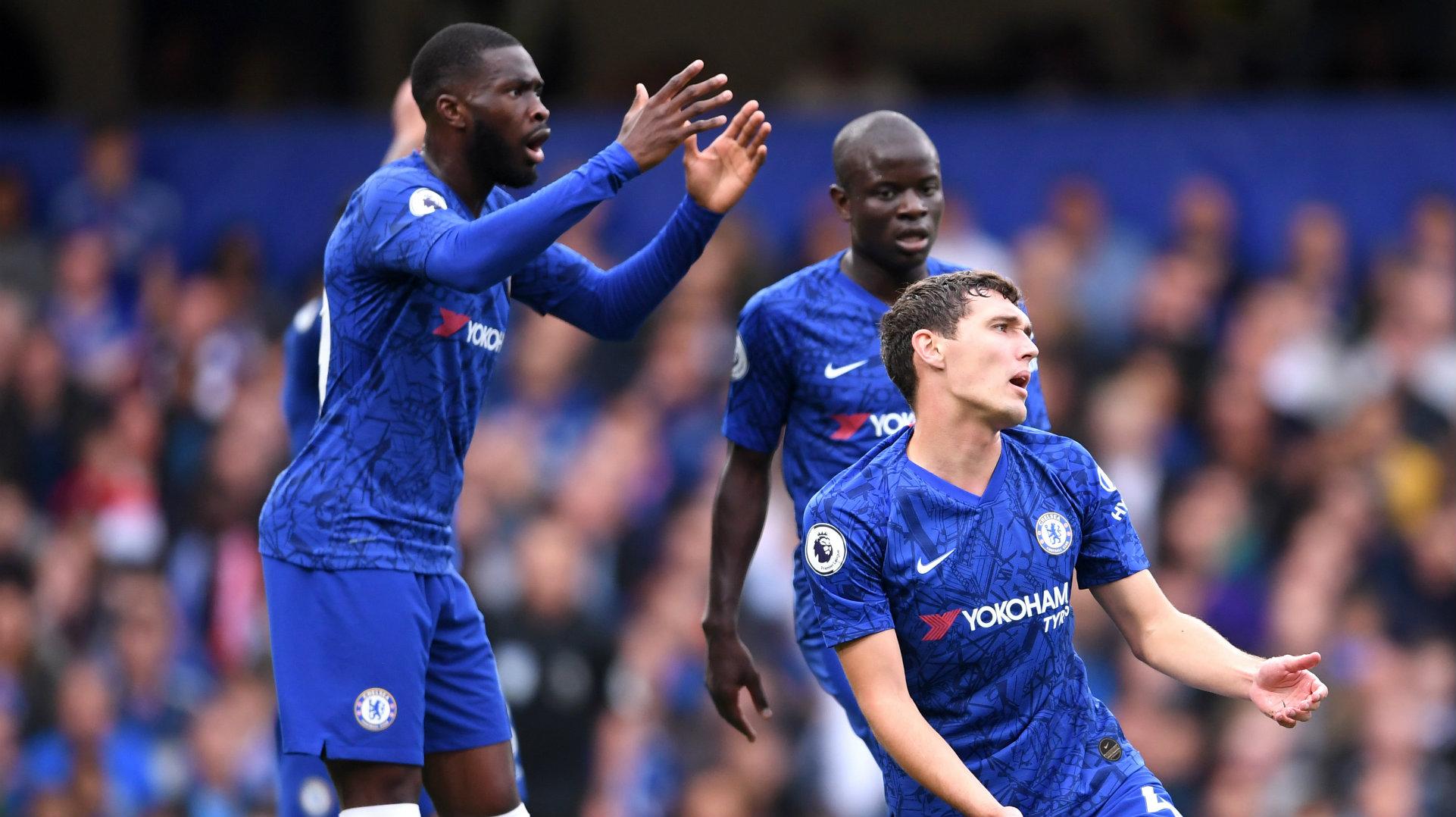 Andreas Christensen Chelsea vs Liverpool 2019-20