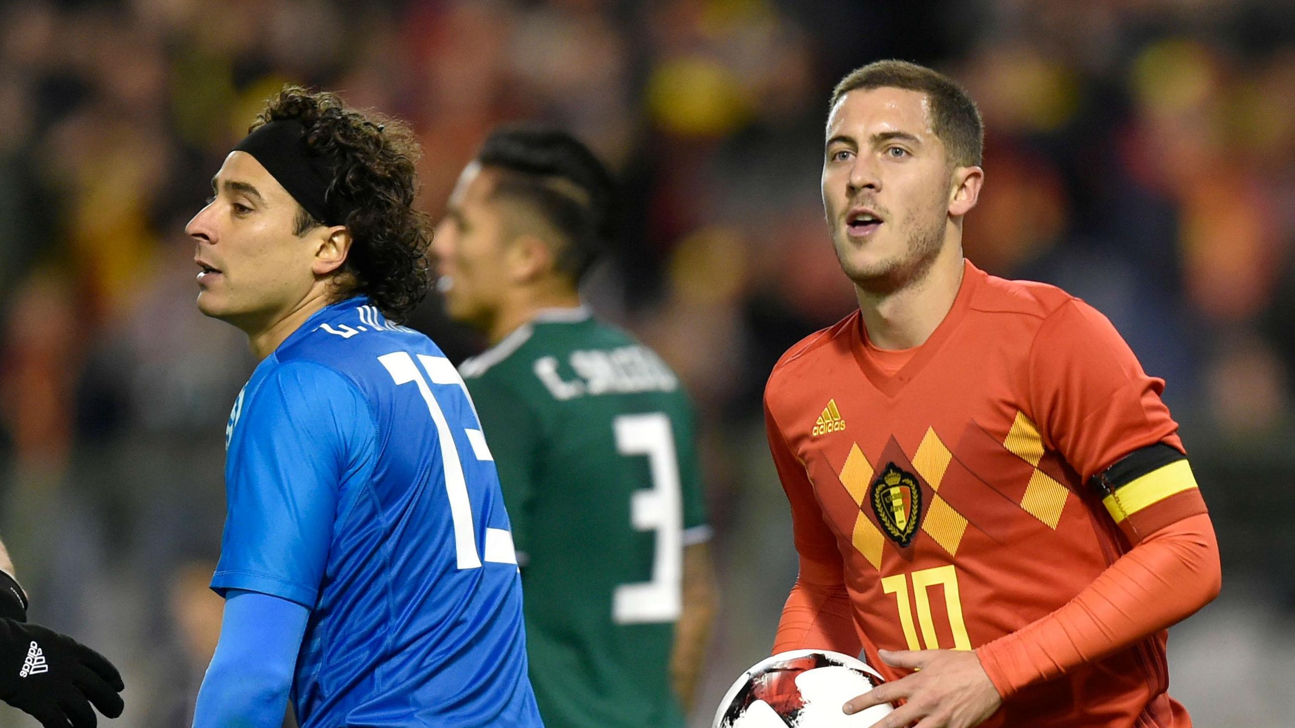 Eden Hazard Belgium Mexico