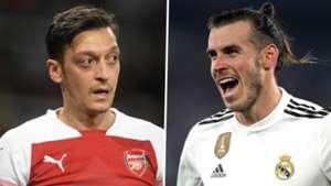 Mesut Ozil Gareth Bale Arsenal Real Madrid