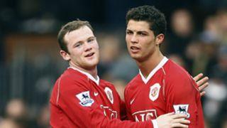 Wayne Rooney Cristiano Ronaldo Manchester United 2006-07
