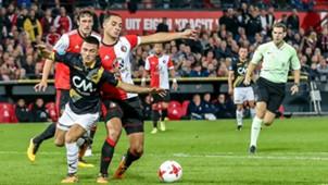 Manu Garcia, Feyenoord - NAC Breda, Eredivisie, 24092017