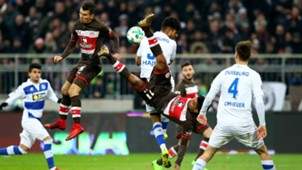 Sami Allagui Waldemar Sobota FC St Pauli MSV Duisburg 10122017
