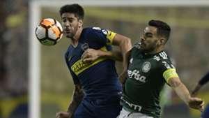 Pablo Perez Bruno Henrique Boca Palmeiras Copa Libertadores Semifinal Ida 24102018