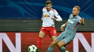 Timo Werner Glik RB Leipzig Monaco UCL