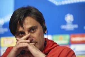 Vincenzo Montella Sevilla Manchester United UEFA Champions League