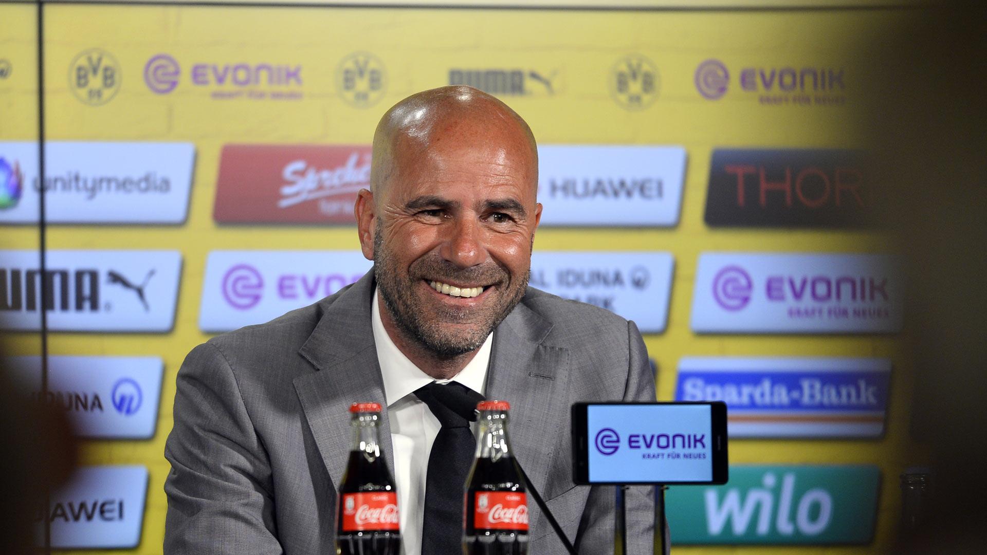 Peter Bosz BVB Borussia Dortmund Vorstellung