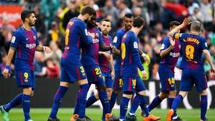 Barcelona Valencia Samuel Umtiti 140418