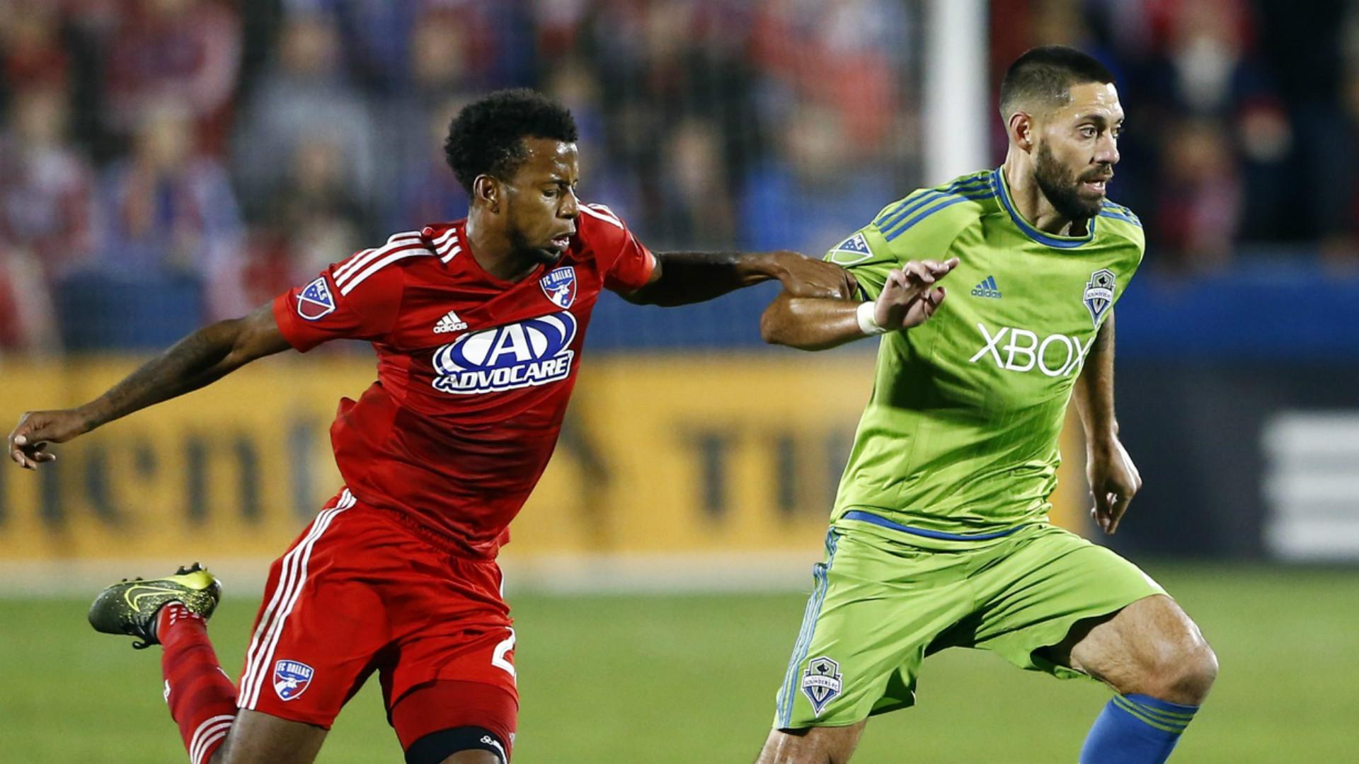 Clint Dempsey Kellyn Acosta MLS 11082015