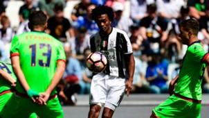 Cuadrado Juventus Crotone Serie A